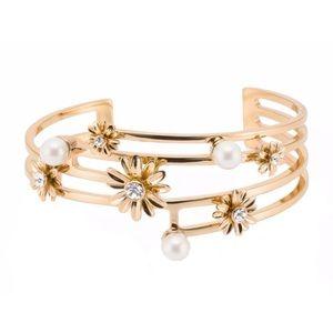 KATE SPADE Dazzling Daisies Cuff Bracelet